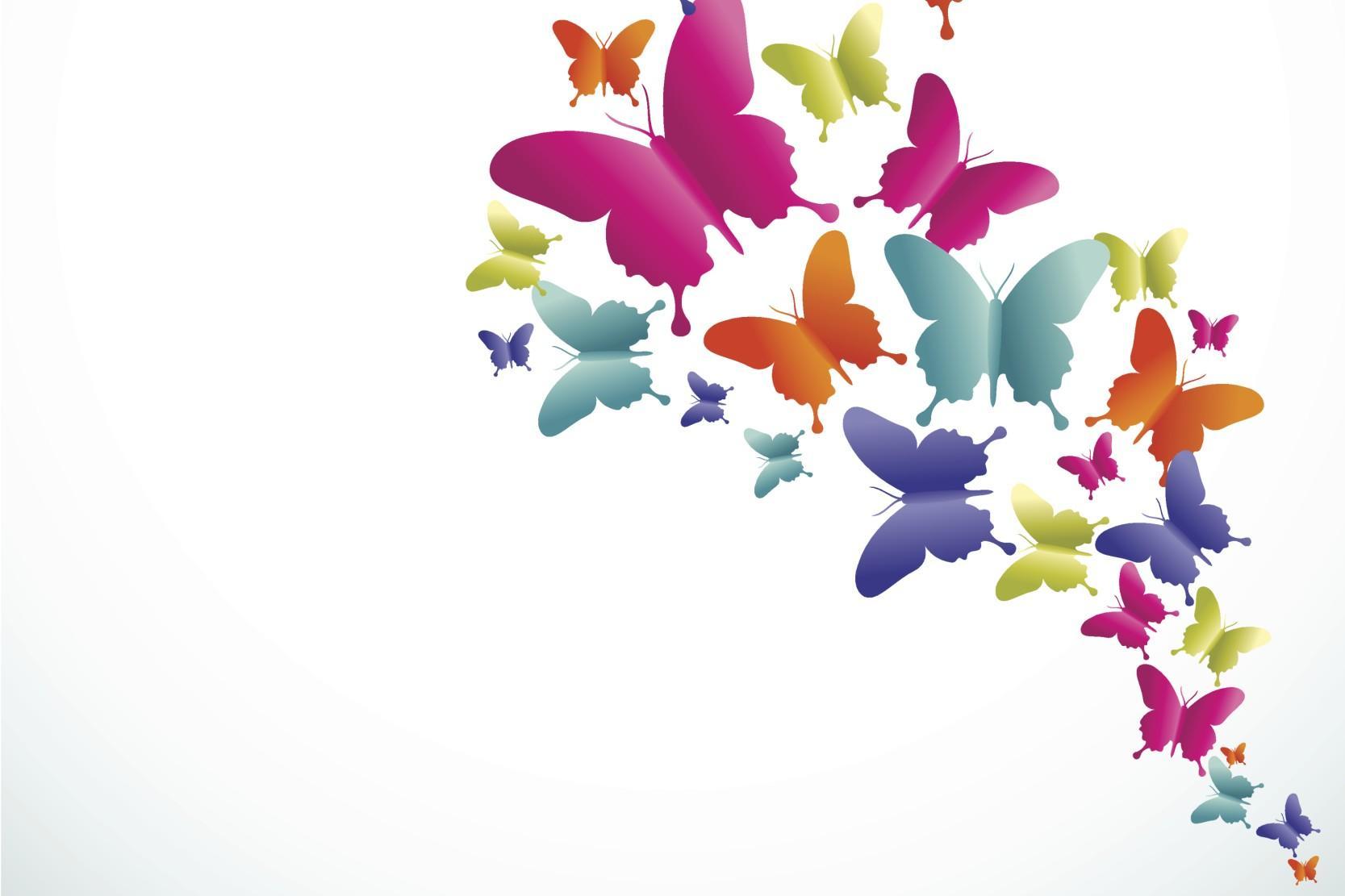 Una farfalla alidiporpora - Immagini di farfalle a colori ...